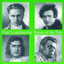 4 Scandinavian Tenors of the Past, CD