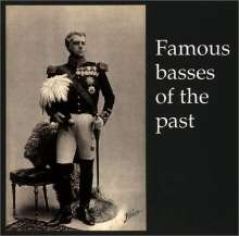 Famous Basses of the Past, CD