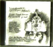 Gregor Joseph Werner (1695-1766): Requiem g-moll, CD