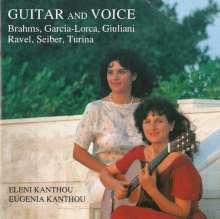 Eleni Kanthou singt Lieder zur Gitarre, CD