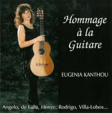 Eugenia Kanthou - Hommage a la Guitare, CD