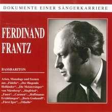 Ferdinand Frantz singt Arien, CD