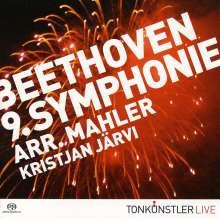 Ludwig van Beethoven (1770-1827): Symphonie Nr.9 (Orchestrierung Mahler), Super Audio CD