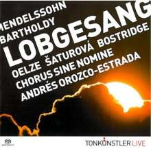 "Felix Mendelssohn Bartholdy (1809-1847): Symphonie Nr.2 ""Lobgesang"", Super Audio CD"