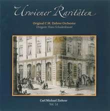 """Carl Michael Ziehrer (1843-1922): Ziehrer-Edition Vol.14 """"Urwiener Raritäten"""", CD"""