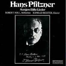 Hans Pfitzner (1869-1949): 20 Klavierlieder, CD