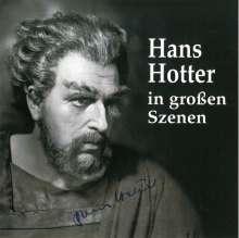 Hans Hotter in großen Szenen, CD