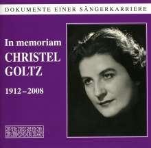 In Memoriam Christel Goltz (1912-2008), 2 CDs