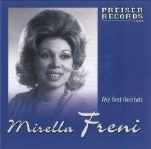 Mirella Freni - The first Recitals, CD