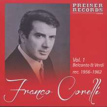 Franco Corelli  Vol.1 - Belcanto & Verdi, CD