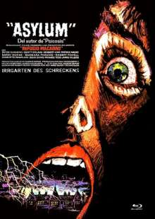 Asylum (Blu-ray & DVD im Mediabook), 2 Blu-ray Discs