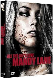 All the Boys love Mandy Lane (Blu-ray & DVD im Mediabook), 1 Blu-ray Disc und 1 DVD