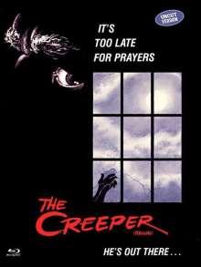 The Creeper (Blu-ray & DVD im Mediabook), 1 Blu-ray Disc und 1 DVD