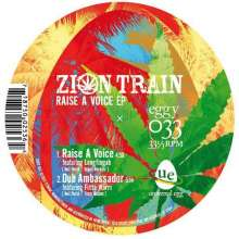 """Zion Train: Just Say Who (EP), Single 10"""""""