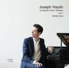 Joseph Haydn (1732-1809): Sämtliche Klaviersonaten Vol.1, CD