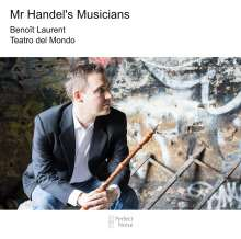 Benoit Laurent - Mr. Handel's Musicians, CD