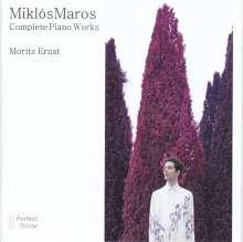 Miklos Maros (geb. 1943): Klavierwerke, CD