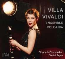 Elisabeth Champollion - Villa Vivaldi, CD