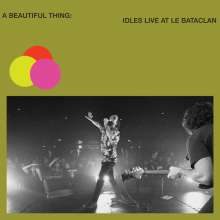 Idles: A Beautiful Thing: Live At Le Bataclan (Limited Edition) (Clear Neon Lime Green Vinyl) , 2 LPs