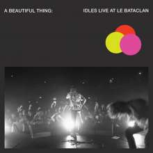 Idles: A Beautiful Thing: Live At Le Bataclan (Limited Edition) (Clear Neon Pink Vinyl), 2 LPs
