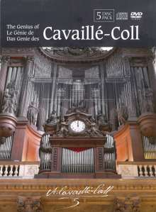 The Genius of Cavaille-Coll, 5 DVDs