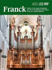 Cesar Franck (1822-1890): Franck - Vater der Orgelsymphonie, 2 CDs und 2 DVDs