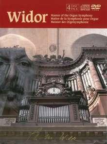 Charles-Marie Widor (1844-1937): Orgelsymphonien Nr.5 & 6, 4 CDs