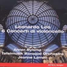 Leonardo Leo (1694-1744): Cellokonzerte D-Dur,d-moll,f-moll,A-Dur,A-Dur (L.10,60,40,20,50), CD