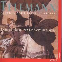 Georg Philipp Telemann (1681-1767): 2 Quartette für Flöte,2 Violen & Bc in G, CD