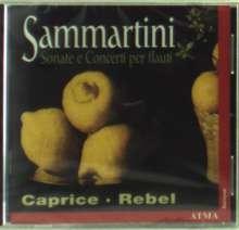 Giuseppe Sammartini (1695-1750): Konzert für Sopranblockflöte,Streicher & Bc, CD