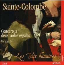 Sieur de Sainte-Colombe (1640-1700): Concerts Nr.51-67 für 2 siebensaitige Gamben, 2 CDs
