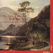 """Robert Burns (1759-1796): Songs """"My Love is like a Red,Red Rose"""", CD"""