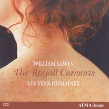 William Lawes (1602-1645): The Royal Consort Suites Nr.1-10, 2 CDs