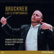 Anton Bruckner (1824-1896): Symphonien Nr.1-9, 10 CDs