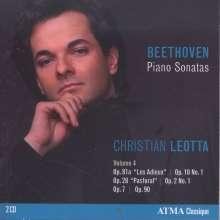 Ludwig van Beethoven (1770-1827): Klaviersonaten Vol.4, 2 CDs