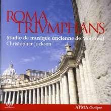 Studio de musique ancienne de Montreal - Roma Triumphans, SACD