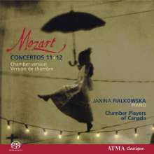 Wolfgang Amadeus Mozart (1756-1791): Klavierkonzerte Nr.11 & 12, SACD