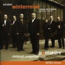 Franz Schubert (1797-1828): Winterreise D.911 (für Tenor,Akkordeon & Bläserquintett), CD