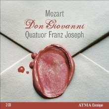 Wolfgang Amadeus Mozart (1756-1791): Don Giovanni für Streichquartett, 2 CDs