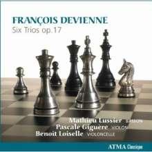 Francois Devienne (1759-1803): Trios op.17 Nr.1-6 für Fagott,Violine,Cello, CD