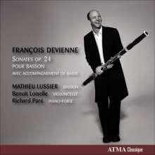 Francois Devienne (1759-1803): Sonaten für Fagott & Bc Nr.1-6, CD