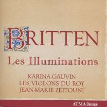 Benjamin Britten (1913-1976): Les Illuminations op.18, CD