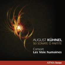 August Kühnel (1645-1700): Sonaten für Gambe & Bc 1-6, CD