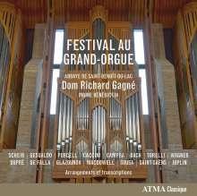 Richard Gagne - Festival Au Grand-Orgue, CD