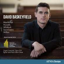 David Baskeyfield, Orgel, CD