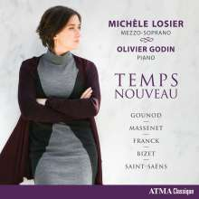 Michele Losier - Temps Nouveau, CD
