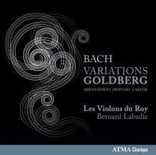 Johann Sebastian Bach (1685-1750): Goldberg-Variationen BWV 988 für Streicher & Bc, CD
