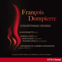 Francois Dompierre (geb. 1943): Concertango Grosso für Klavier, Violine, Bandoneon, Kontrabass & Orchester, CD