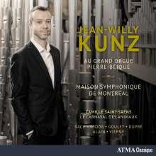 Jean-Willy Kunz au Grand Orgue Pierre-Beique Maison Symphonique de Montreal, CD
