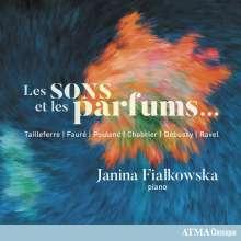 Janina Fialkowska - Les Sons et les Parfums..., CD